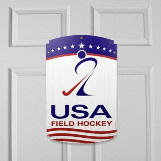 click an image to enlarge u s field hockey 11 x 17 wood sign support