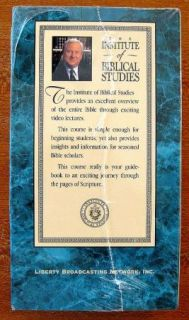 of Biblical Studies Jerry Falwell 2 Study Guide Volumes 1 3 VHS