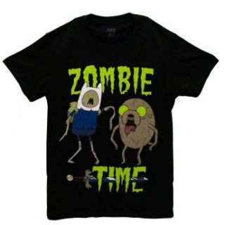 Adventure Time Zombie Finn And Jake Cartoon Adult T Shirt Tee