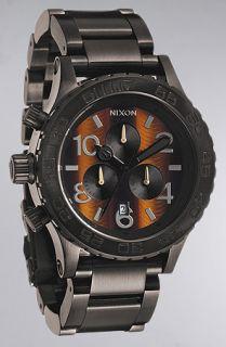 Nixon The 4220 Chrono Watch in Tigerseye