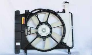 Yaris 08 10 Scion XD Radiator Condenser Cooling Fan Assembly