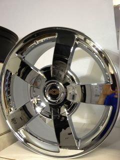 Chrome Chevrolet Silverado SS OE Factory Replica Wheels GMC Rims 6x5 5