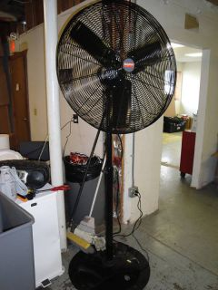 Industrial Pedestal Fan 115 Voltage 60 Hz 1 Phase
