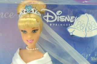 Disney Barbie Fairytale Wedding Princess Cinderella New