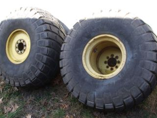 Turf Tires Rims Ford and Other Farm Tractors Mowing Equipment