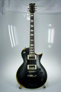ESP EC 256 Antique Vintage Black Electric Guitar