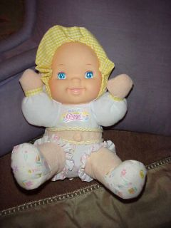 Babys First Doll Giggles Belly Button 11 Tall Soft