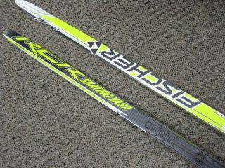 Fischer RCR Skating Vasa NIS Skate XC Ski 2010 192 cm Medium Flex New