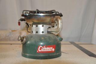 Vtg Coleman Model 502 Stove Green 7 63 Hunt Fish Camp