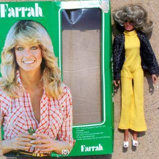 Original 1977 Mego FARRAH FAWCETT Doll 12 Special Outfit w Box