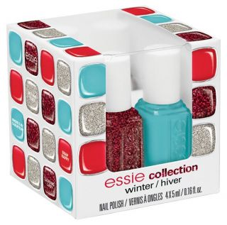 Essie Nail Polish Winter Collection 2012 4pc Mini Cube 5ml Each