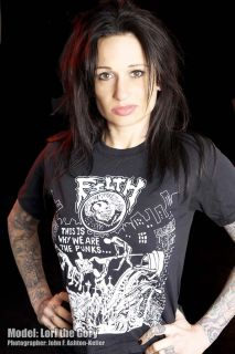 Filth T Shirt 4 Punk This Is Why We Are The Punx Crust