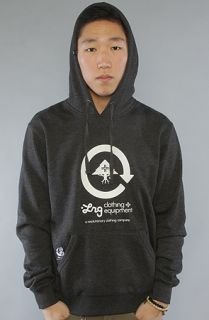 LRG Core Collecion he Core Collecion Hoody in Black Heaher