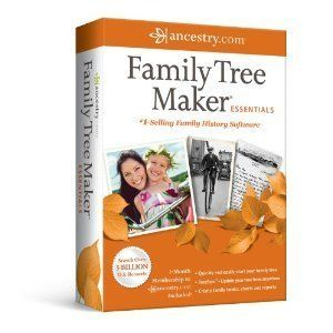 Family Tree Maker Essentials 2012 Brand New