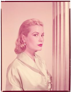 Grace Kelly Rear Window Vintage 8 x 10 Studio Color Transparency by