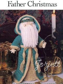 Father Christmas Traditional Santa Crochet Pattern