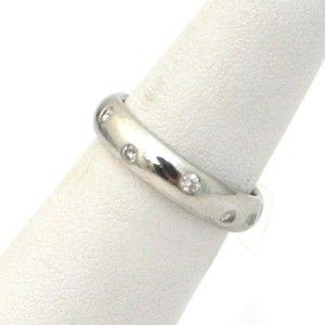 tiffany co platinum diamond etoile ring