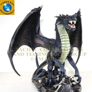 TOM WOOD FANTASY ART ROGUE DRAGON STATUE FIGURINE RULER OF ASGARD