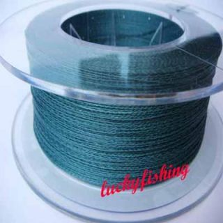 PE Spectra Braid Fishing Line 40lb 300M Dyneema Green