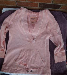 American Eagle Hoodie Size M Peach Color Super Cute