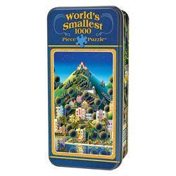 Masterpieces Puzzles Worlds Smallest Puzzle Hidden Village jigsaw 1000