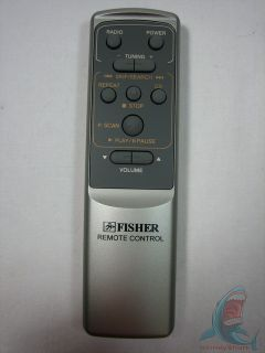 Fisher Audio System Remote Control for CD Player Stereo System