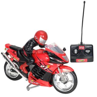 Fast Lane Turbo Rider Radio Control Motorcycle 27 MHz