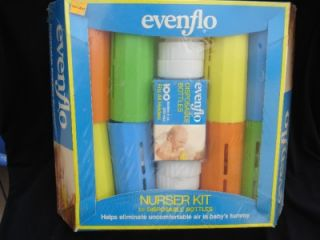 Vtg SEALED 1979 Evenflo Nurser Kit 8 Disposable Baby Bottles 8 oz