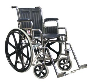 NEW Everest & Jennings Traveler Wheelchair, 18 x 16 seat, Detachable