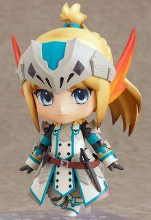 Capcom Nendoroid Monster Hunter Female Swordsman Bario x Edition