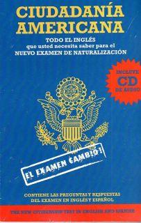 CIUDADANIA AMERICANA PREGUNTAS REPUESTAS LIBRO CD