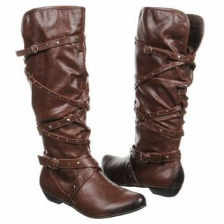 New Fergalicious by Fergie Roughrider Womens Boots Brown