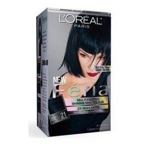 Loreal Paris Feria Bright Black 21 Hair Color