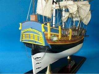 HMS Bounty 32Wooden SHIP Model 1 50 Wood Sailing Boat