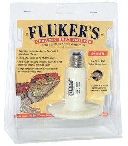 Flukers Reptile Ceramic Heat Emitter Heater Bulb 150W