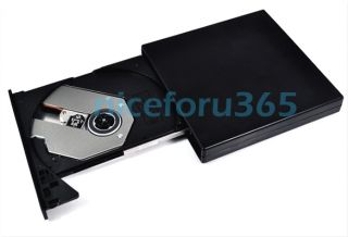New USB 2.0 External Optical DVD ROM Drive For Laptop PC Portable