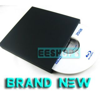DL 4ETS Blu Ray Combo 3D Player Slot in USB External Slim DVD RW Drive