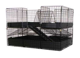 New 2 Level 2x3 Deluxe Custom Guinea Pig Large Pet Cage