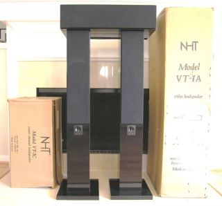 NHT VT 1A Floor Standing Speakers with VT 1C Center and SW2P Sub MA 1A
