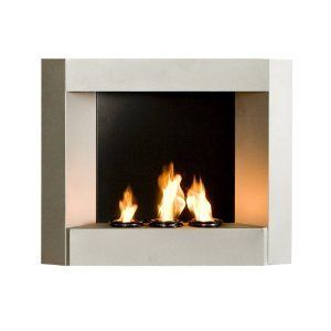 New Decorative Room Fireplace Space Heater w Real Flame
