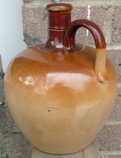 Antique Advertising Doulton Lambeth Special Highland Whisky Flagon