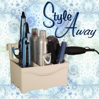 Curling or Flat Iron Blow Dryer Hair Tools Organizer Caddy MADE IN THE