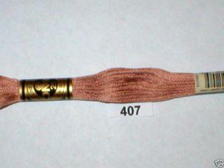 407 DMC Hand Embroidery Floss Thread 100 Cotton