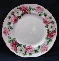 Crown Staffordshire Bone China Trinity Rose Salad Plate 8 3 8 F15938