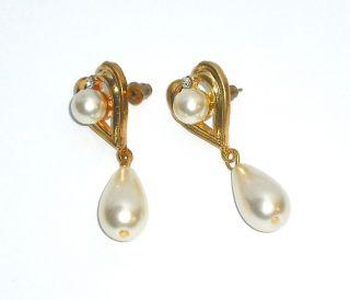 Diamond Earrings Gold Back Flea Market Resell Wholesale Bulk