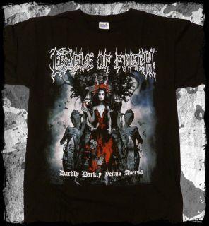 Cradle of Filth   Darkly Darkly Venus Abersa t shirt   Official   FAST