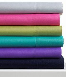 fine linens microfiber purple twin sheet set new