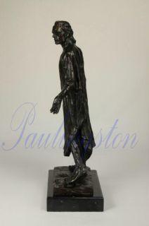of Calais Bronze Statue Jean de Fiennes Auguste Rodin Sculpture GIFT