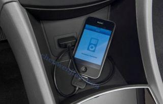Hyundai Kia Aux USB interface Input Cable for iPod iPhone iPad i