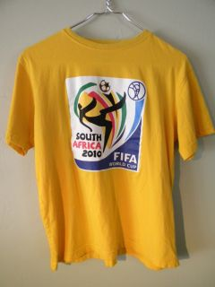 World Cup Soccer FIFA 2010 World Games South Africa Adult Tee Shirt